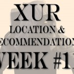 XUR LOCATION AND RECOMMENDATIONS NOV 27, 2015