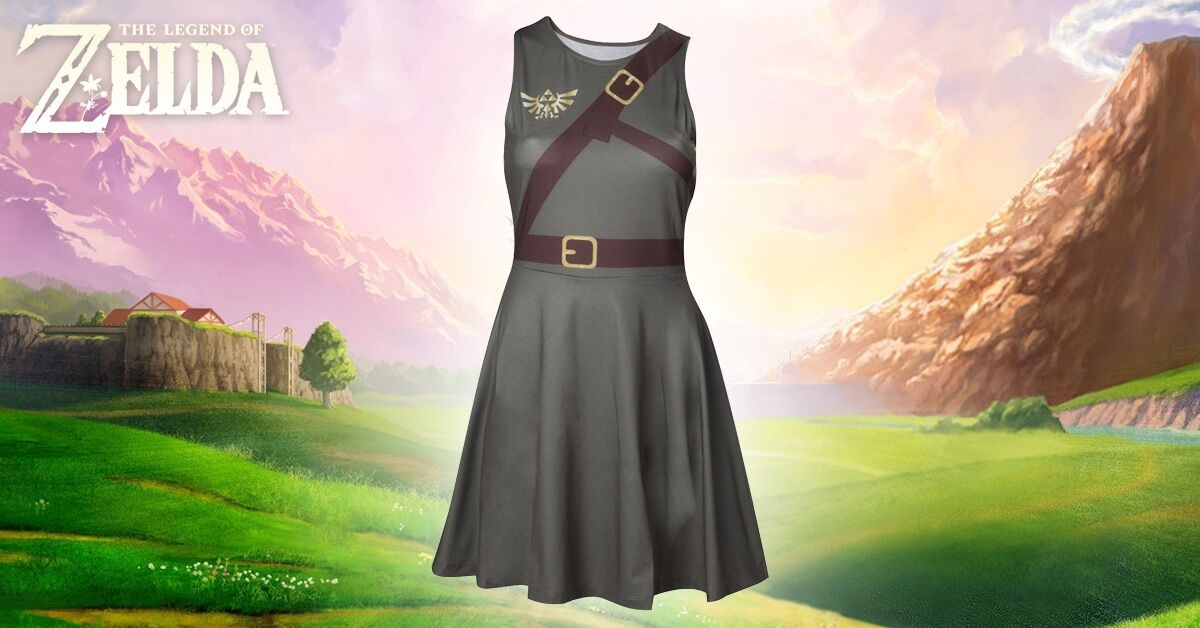 New Zelda 'Dress of the Wild' Released