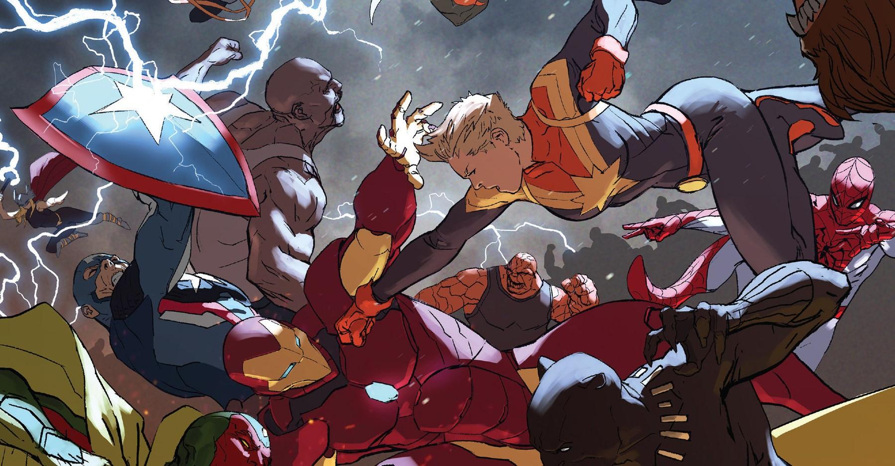 RadioPress Reads – Comics – Let's talk Civil War II