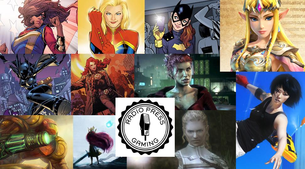 RPG's Top Comic and Video Game Ladies