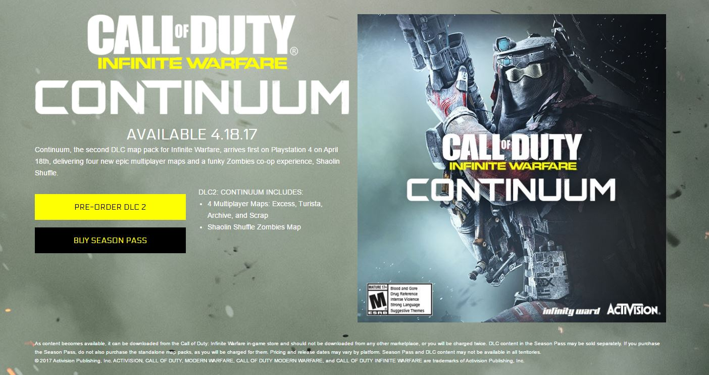 Continuum Coming April 18th